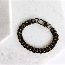 Load image into Gallery viewer, Cubano Link Curb Chain Bracelet - Thick