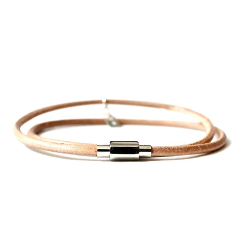 Barcelona Thin Leather Wrap
