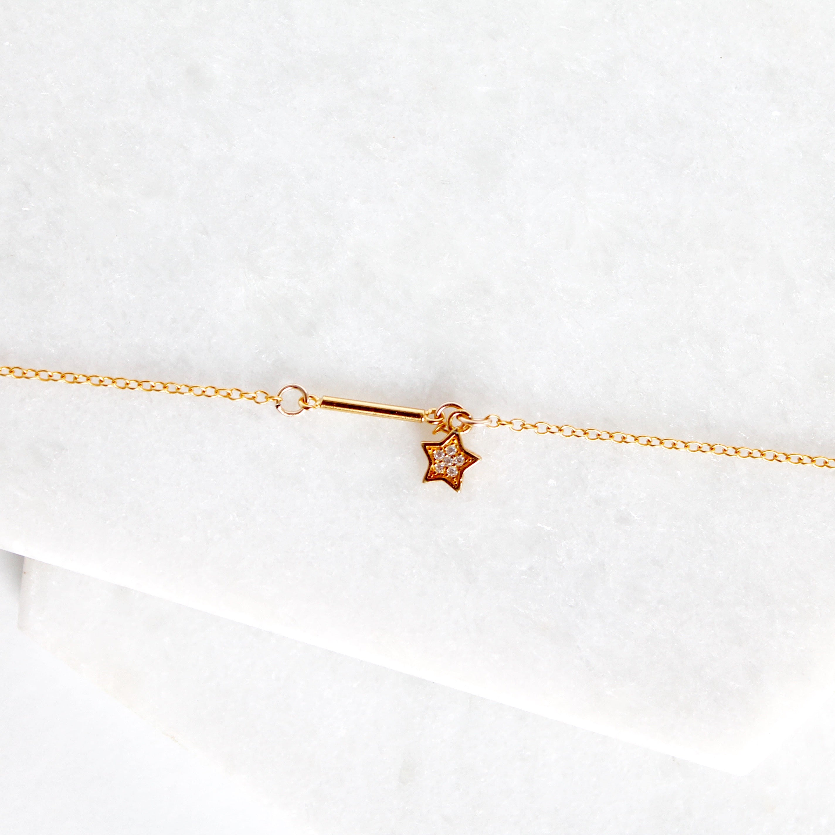 Star Bar Choker