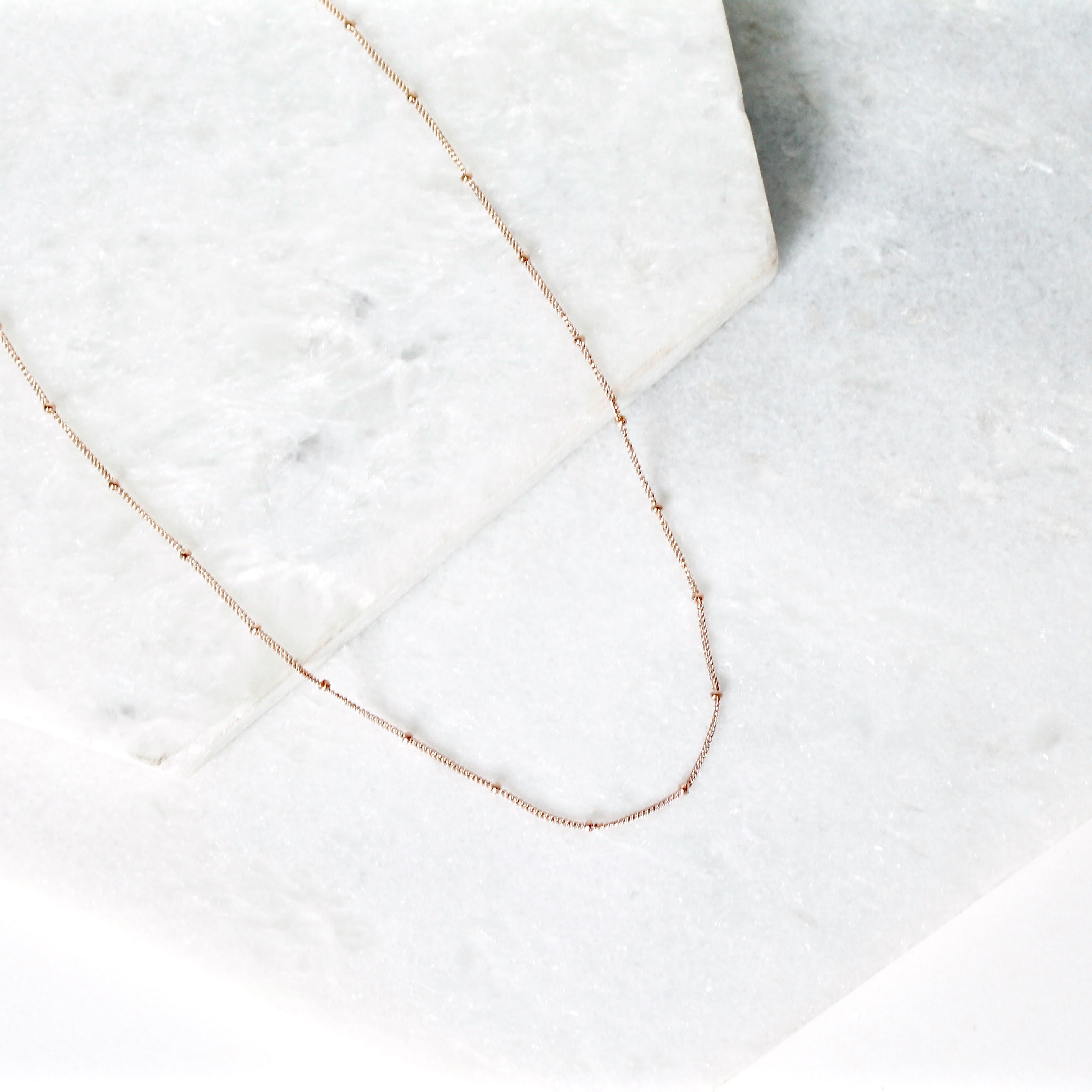 Seraphina Necklace - Rose Gold