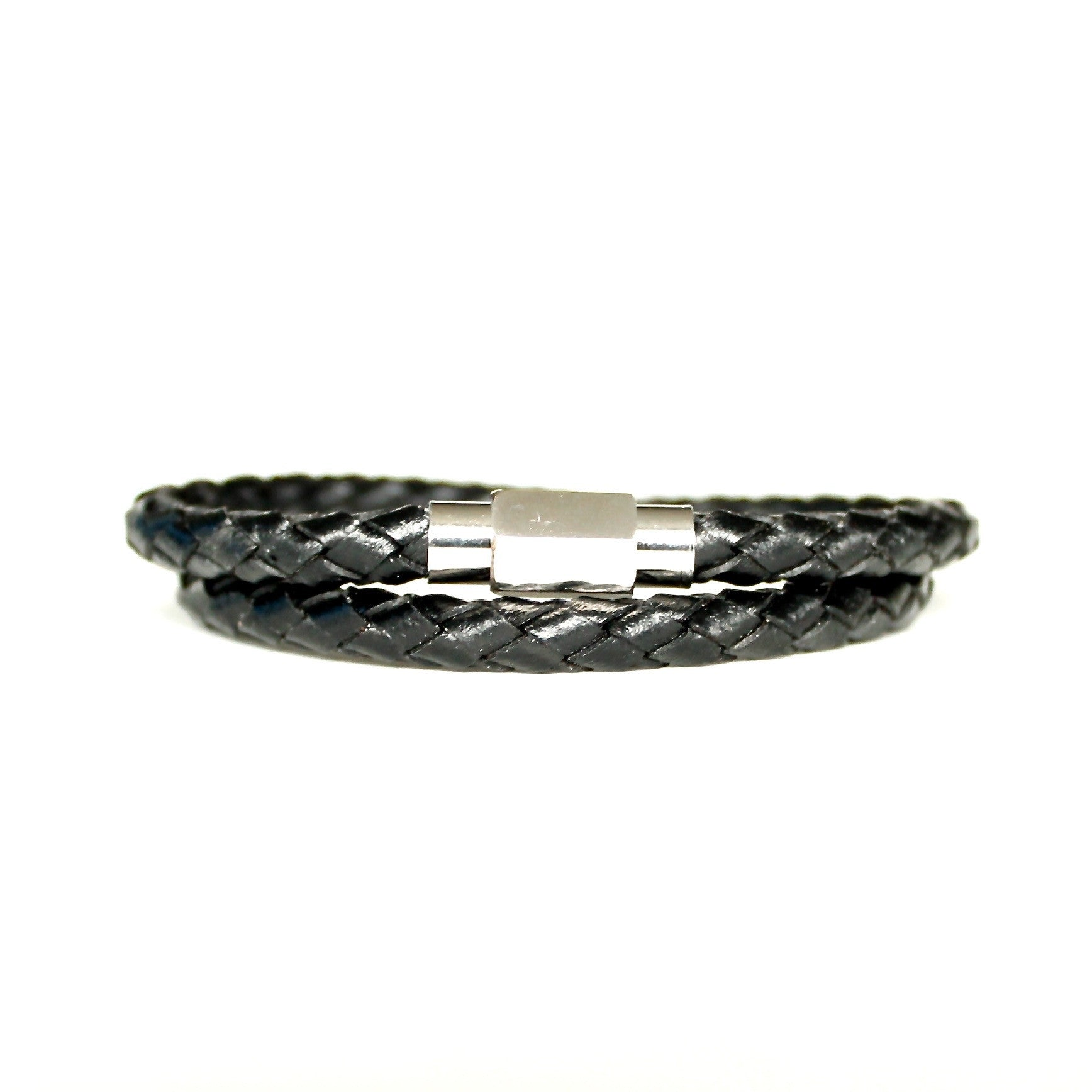 Andorra Magnetic Leather Wrap Bracelet