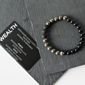 Wealth Bracelet - Pyrite