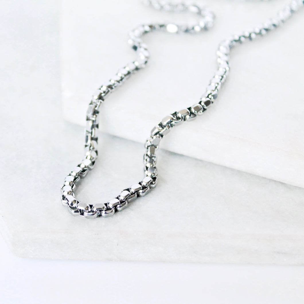 Diamond Cut Rolo Men's Chain