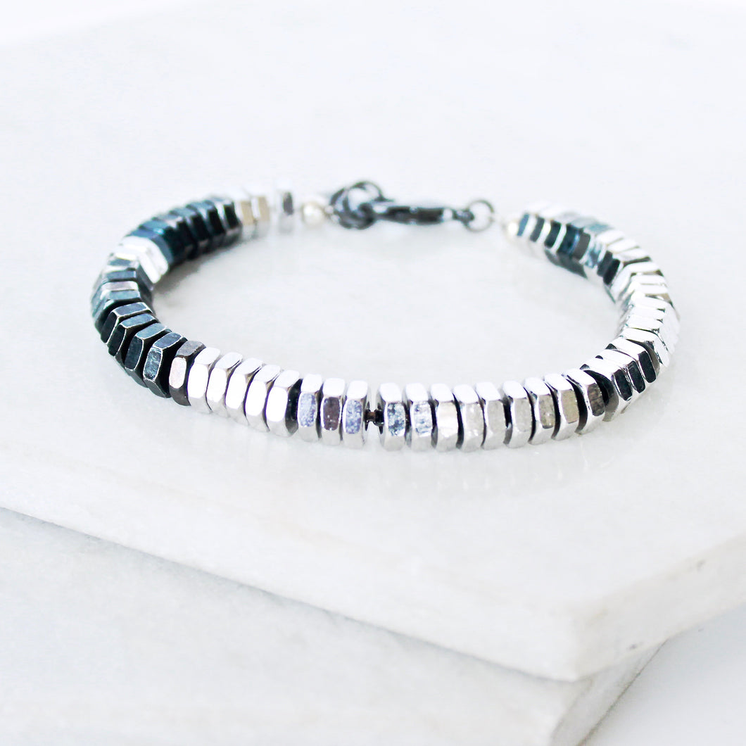 Industrial Nut Bolt Bracelet