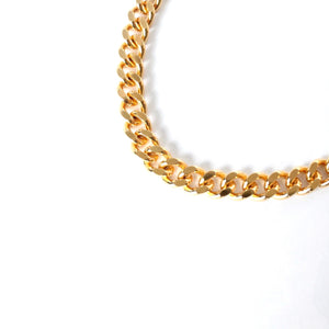 The Luxe Chunky Curb Chain Collar