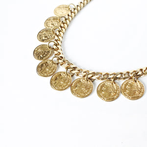 The Majesty Coin Necklace