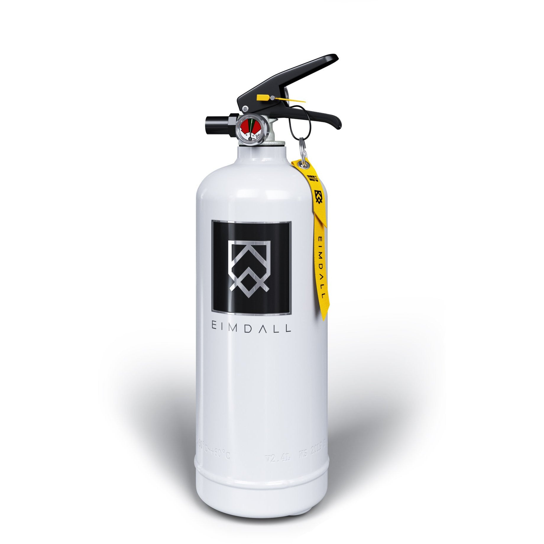 FREJA - White Eimdall 2 kg Design Fire Extinguisher
