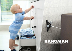 Hangman Adds All Surface Installation to Best Selling Furniture Anti Tip Kit for Furniture Manufacturers