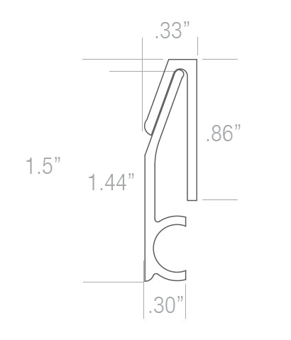 French Cleat Profile