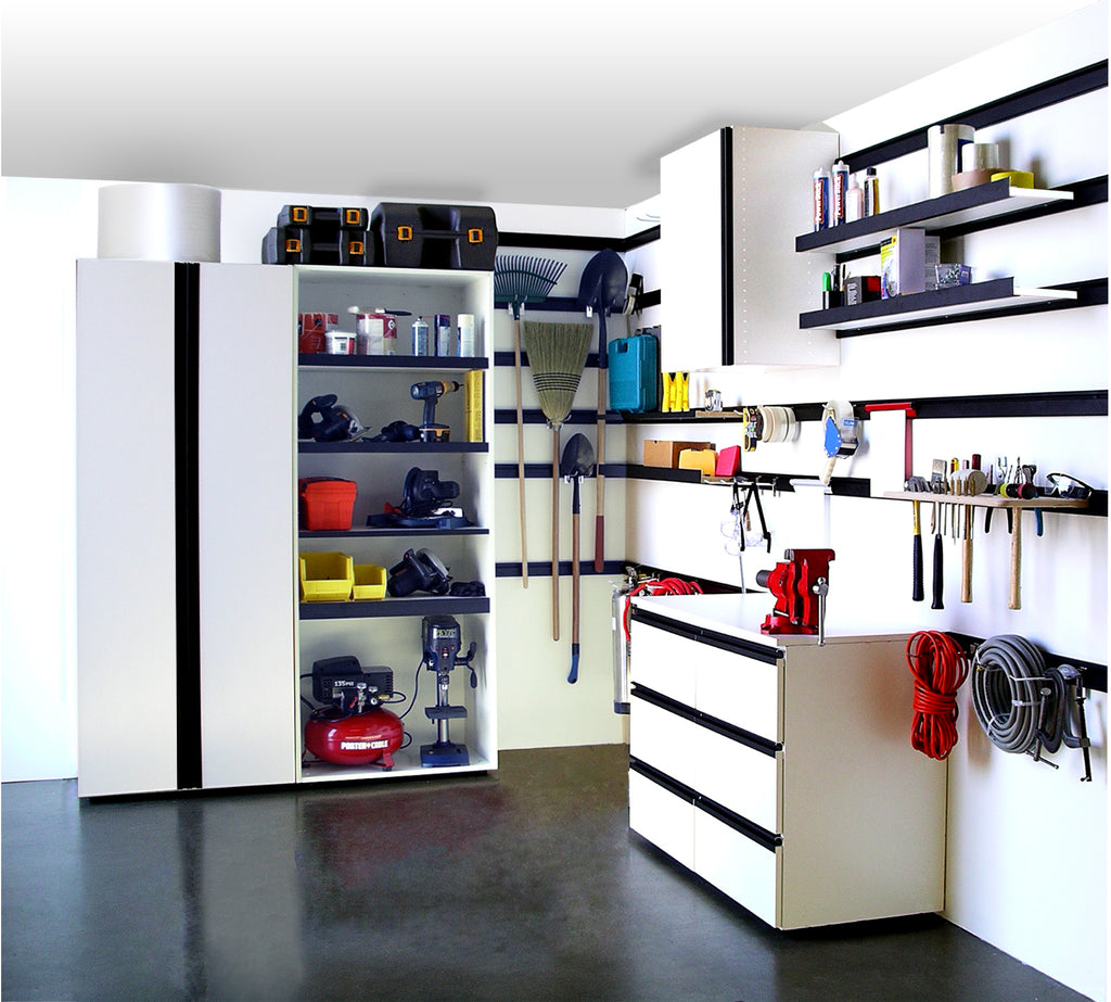 Garage, Slatwall & Organization
