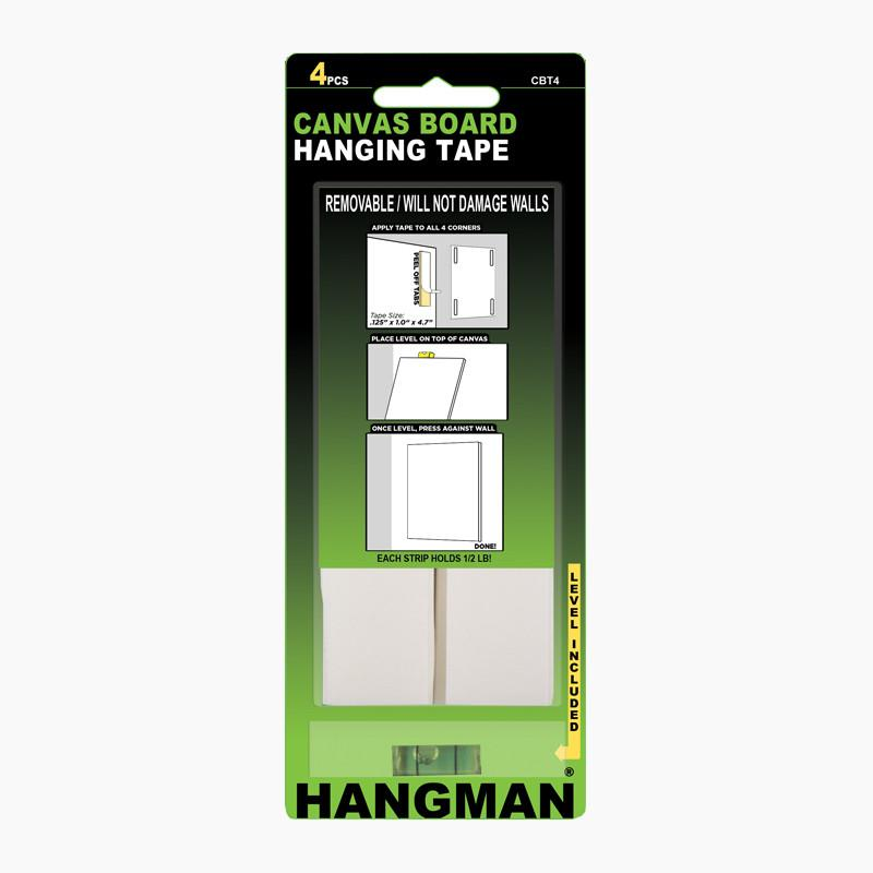 Canvas Board Hanging Tape Hangman Products