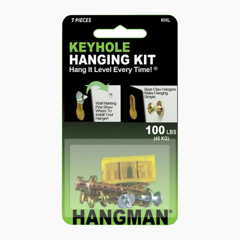 Keyhole Hanging Kit - Hangman Products