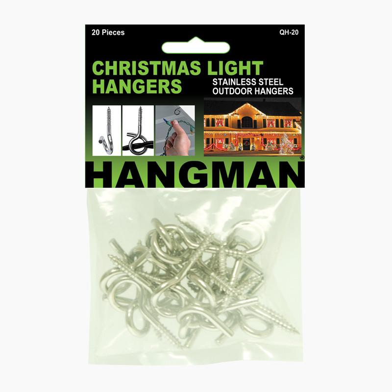 Christmas light hangers hangman products aloadofball Choice Image