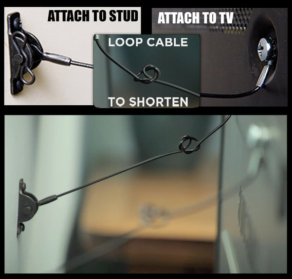 TV Anti-Tip Kit