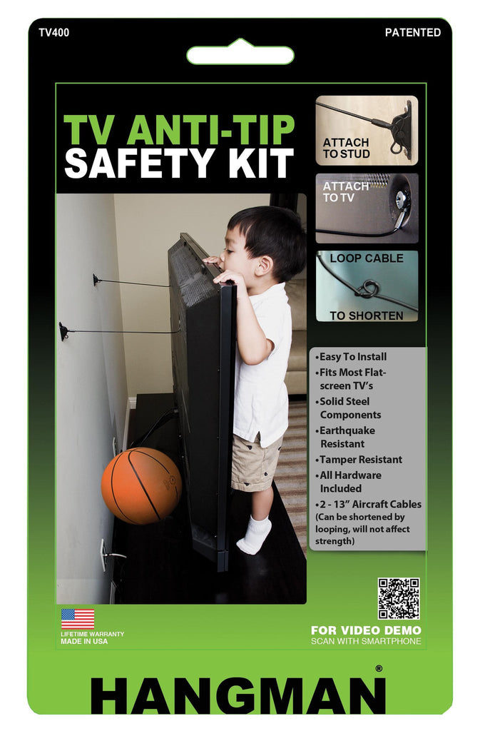 Anti Tip Kits For Tvs Hangman Products