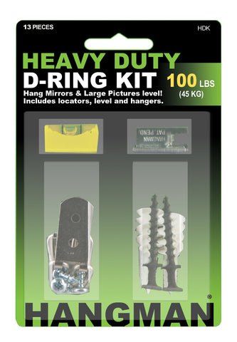 Heavy Duty D-Ring Kit - Hangman Products