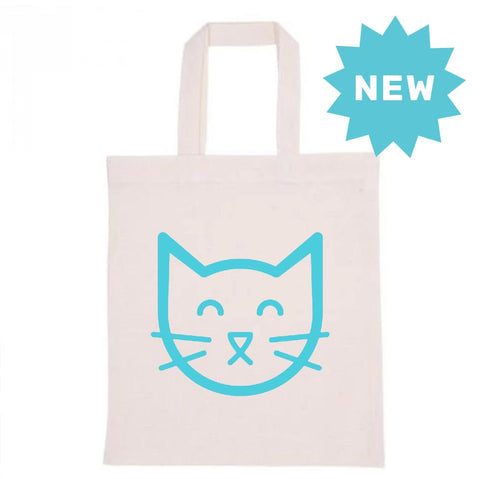 Floating Cat Scratcher Tote Bag