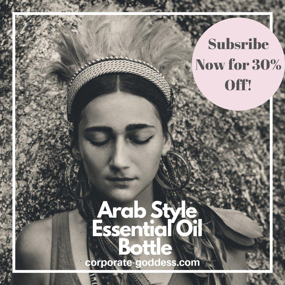 Arab Style Essential Oil Bottles - The Corporate Goddess