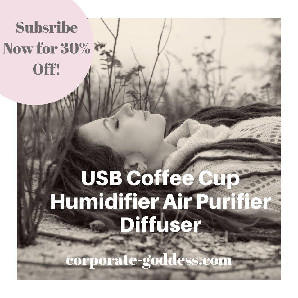 Coffee Cup USB Diffuser Humidifier and Air Purifier-The Corporate Goddess