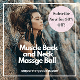 Muscle, Back and Neck Massage Ball - The Corporate Goddess