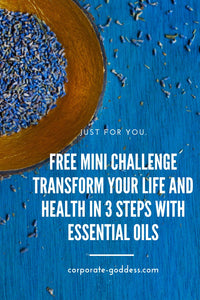 Free Mini Challenge - Dissolve Stress and Headaches in 3 Days - The Corporate Goddess