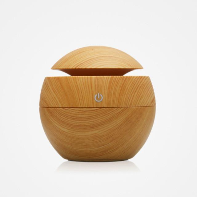 Mini Wooden Diffuser Humidifier and Air Purifier - The Corporate Goddess