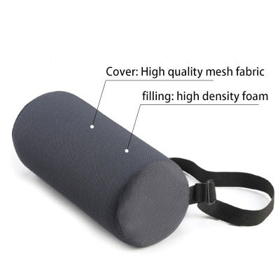 Lumbar Roll Back and Neck Support Pillow - The Corporate Goddess