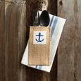 coastal | print | anchor | set of 8