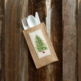 holiday | large evergreen | set of 8