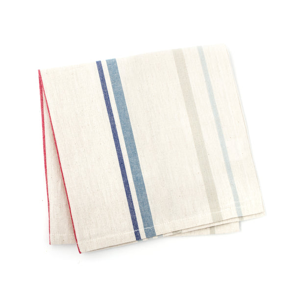 napkin | coastal stripe | set of 4