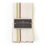 neutral stripe napkin | set of 4