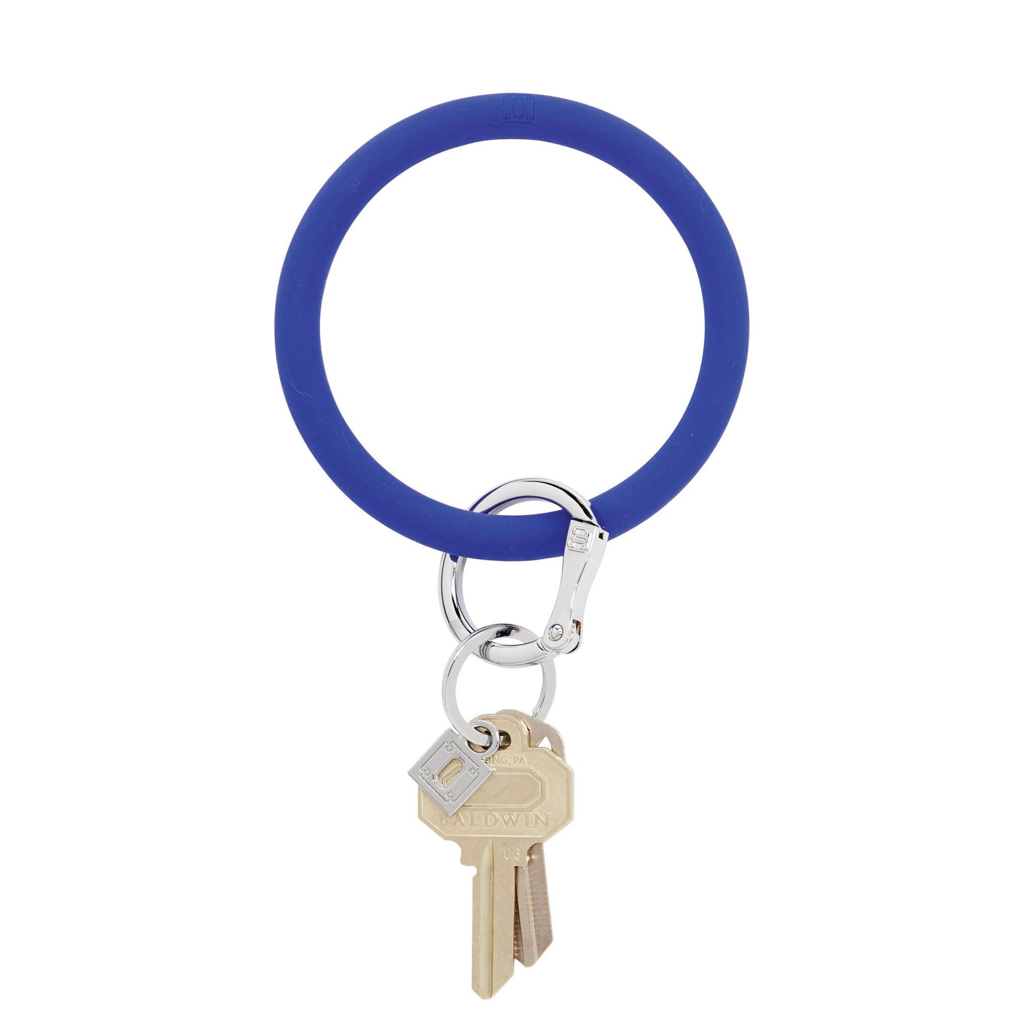 Silicone O-Venture Key Ring - Royal Blue