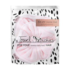 Microfiber Towel Scrunchies - Blush