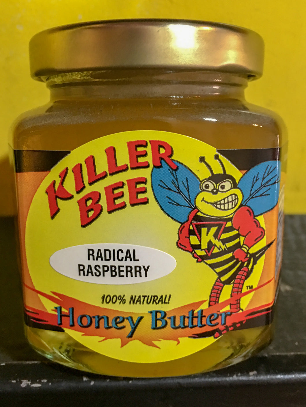 Radical Raspberry Honey Butter
