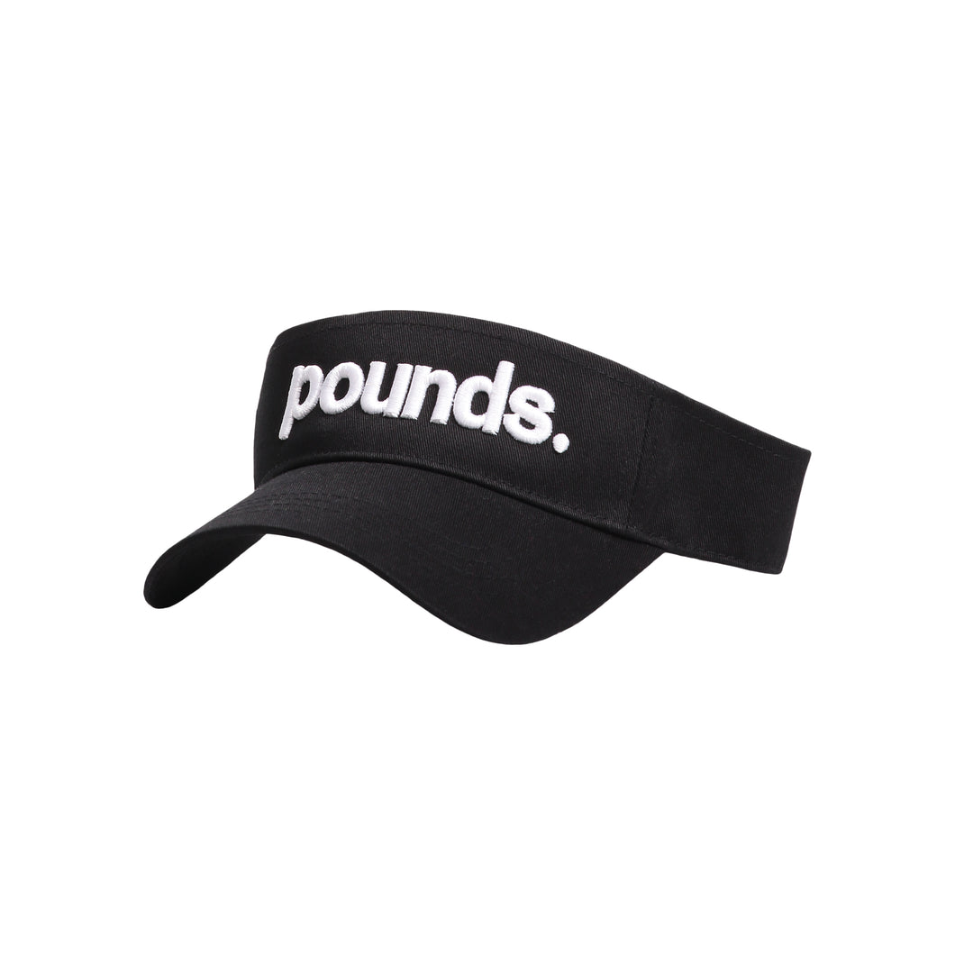 Pounds. Visor