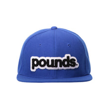 Load image into Gallery viewer, Pounds. Chenille Patch Snapback