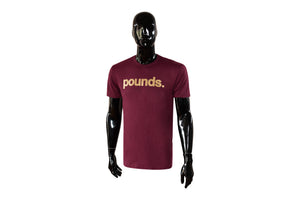 Pounds Gold 16oz Tee