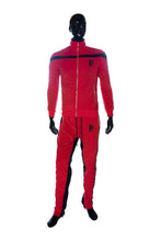 Load image into Gallery viewer, Velour Tech Suit Top
