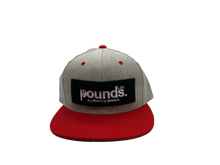 Load image into Gallery viewer, Pounds. A Lifestyle Brand Chenille Patch Snapback