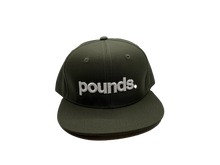 Load image into Gallery viewer, Pounds. Snapback