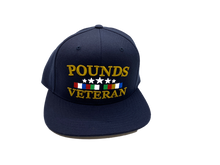 Load image into Gallery viewer, Pounds Veteran Snapback