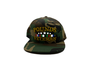 Pounds Veteran Snapback