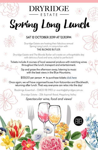 2019 Spring Long Lunch