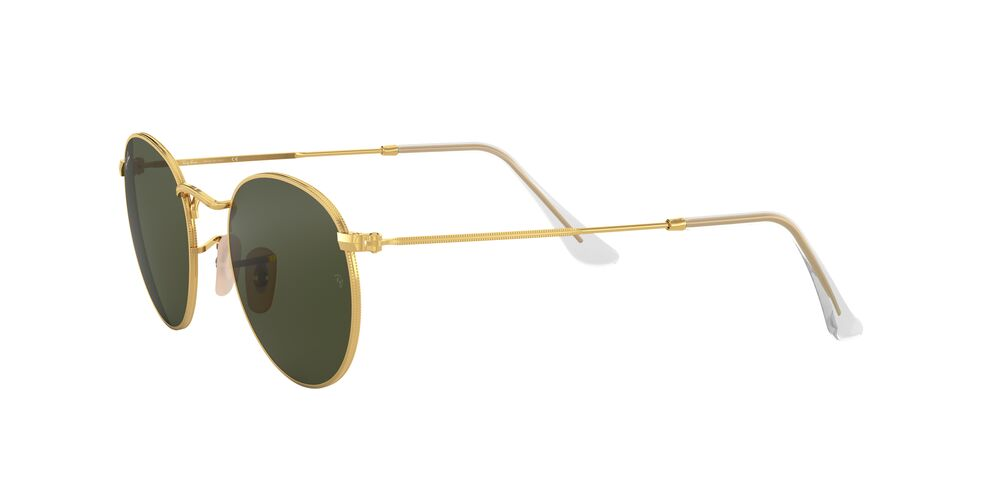 RAY-BAN 0RB3447 001 ROUND METAL