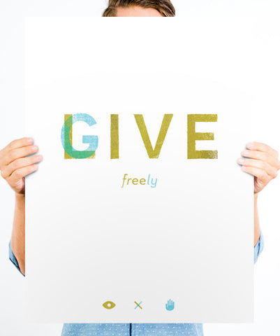 Live Free - Give Freely