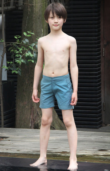 Boy's Gavin Swim Short - Harbour