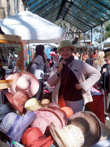 Maya Neumann Millinery at markets