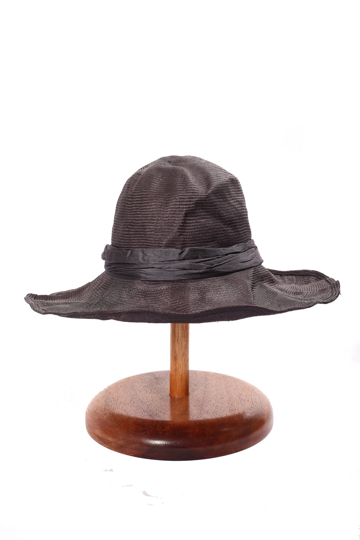 Maya Neumann Squash Hat - Dark Grey Blue