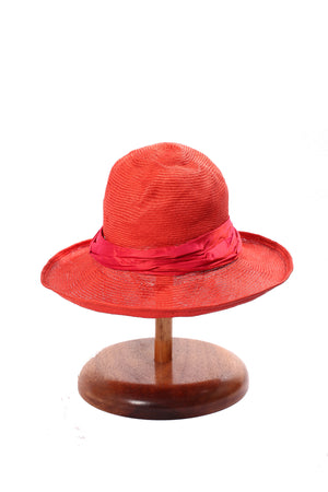 Maya Neumann Squash Hat - Orange