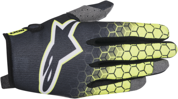 Alpinestars Radar Flight Glove YL/GY - Motoboats us